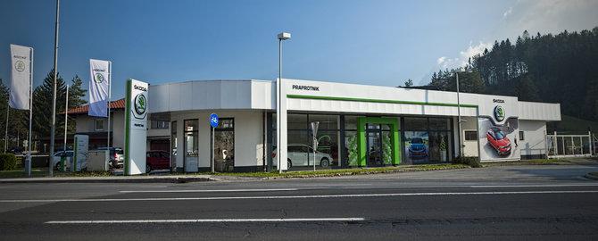 PSC PRAPROTNIK, Velenje – pooblaščeni trgovec in servis za vozila Škoda, pooblaščeni servis za vozila Seat in prodaja rabljenih vozil.